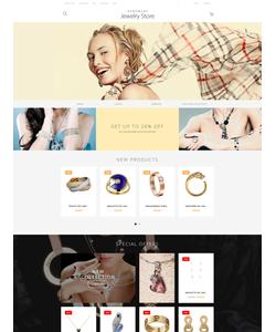Magento e-shop šablona na téma Šperky č. 57684