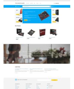 Magento e-shop šablona na téma Počítače č. 57988