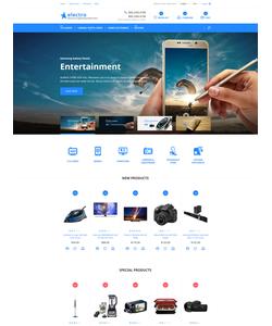 Magento e-shop šablona na téma Elektronika č. 58050