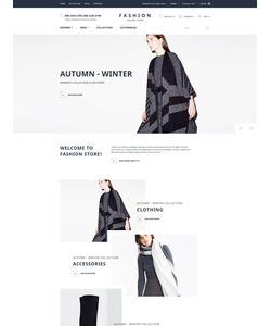 Magento e-shop šablona na téma Móda č. 58060