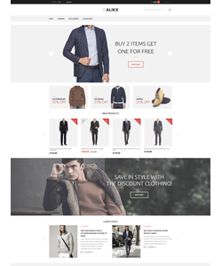 Magento e-shop šablona na téma Móda č. 58442