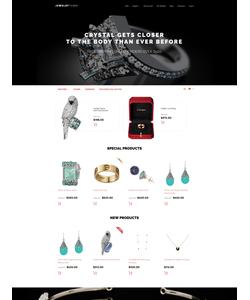 Magento e-shop šablona na téma Šperky č. 58504