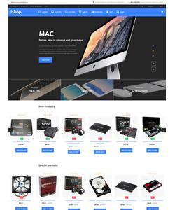 Magento e-shop šablona na téma Elektronika č. 58509