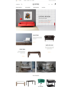 Magento e-shop šablona na téma Interiér a nábytek č. 58511