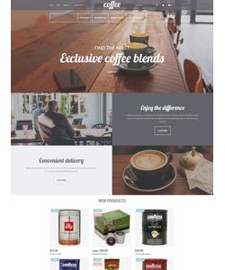 Magento e-shop šablona na téma Café a restaurace č. 58605