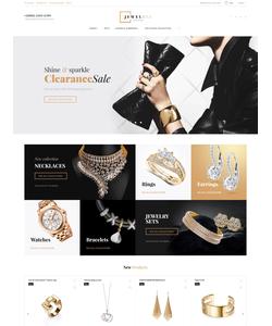 Magento e-shop šablona na téma Šperky č. 58903