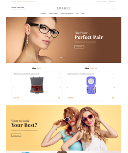 Magento e-shop šablona na téma Móda č. 61419