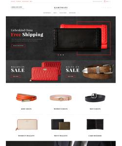 Magento e-shop šablona na téma Móda č. 61421
