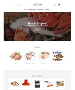 Magento e-shop šablona na téma Café a restaurace č. 62082