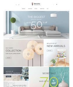 Magento e-shop šablona na téma Interiér a nábytek č. 62090