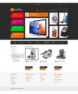 Magento e-shop šablona na téma Elektronika č. 47180