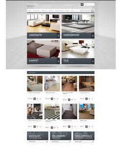 Magento e-shop šablona na téma Interiér a nábytek č. 47182