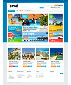 Magento e-shop šablona na téma Cestování č. 47319
