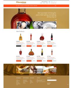 Magento e-shop šablona na téma Jídlo a pití č. 47326