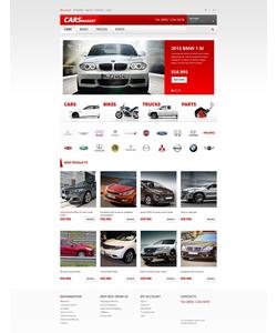 Magento e-shop šablona na téma Auta č. 47402