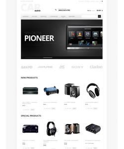 Magento e-shop šablona na téma Auta č. 47456