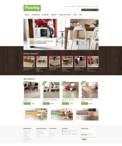 Magento e-shop šablona na téma Interiér a nábytek č. 47457