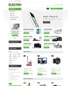 Magento e-shop šablona na téma Elektronika č. 47480