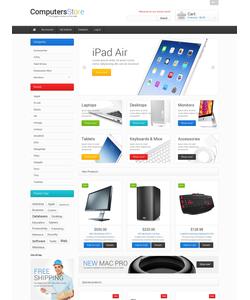 Magento e-shop šablona na téma Počítače č. 47676