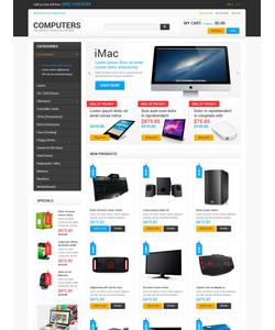 Magento e-shop šablona na téma Počítače č. 47677