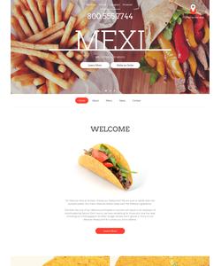 Moto CMS HTML šablona na téma Café a restaurace č. 59081