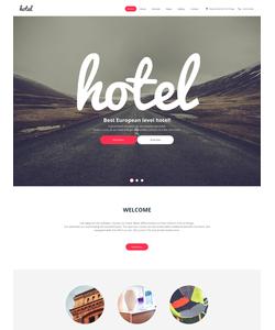 Moto CMS HTML šablona na téma Hotely č. 59160