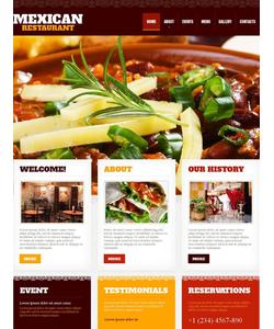 Moto CMS HTML šablona na téma Café a restaurace č. 45187