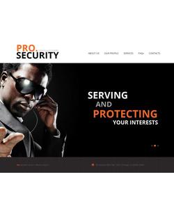 Moto CMS HTML šablona na téma Bezpečnost č. 45191