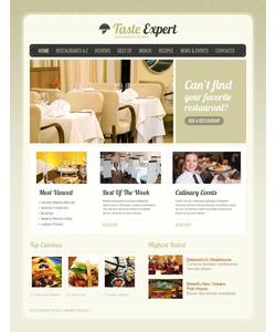 Moto CMS HTML šablona na téma Café a restaurace č. 45358