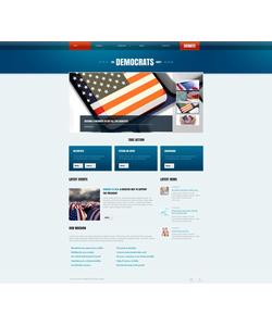 Moto CMS HTML šablona na téma Politika č. 45902