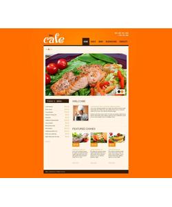 Moto CMS HTML šablona na téma Café a restaurace č. 46471