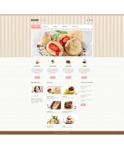 Moto CMS HTML šablona na téma Café a restaurace č. 46587