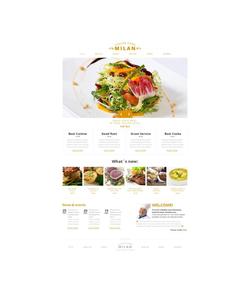 Moto CMS HTML šablona na téma Café a restaurace č. 46740