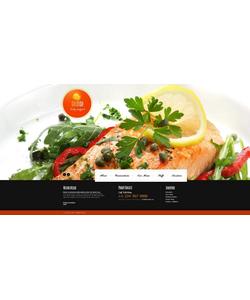 Moto CMS HTML šablona na téma Café a restaurace č. 46746
