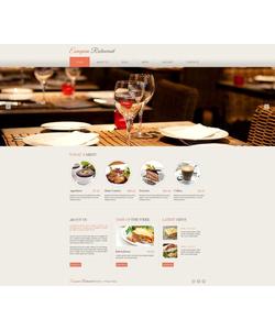 Moto CMS HTML šablona na téma Café a restaurace č. 46940