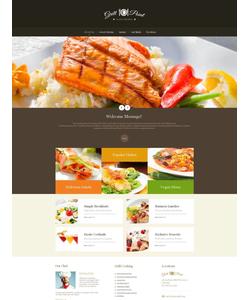 Moto CMS HTML šablona na téma Café a restaurace č. 46946