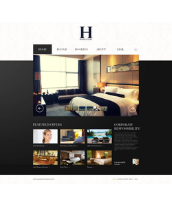 Moto CMS HTML šablona na téma Hotely č. 47031