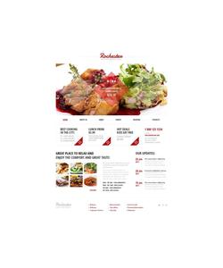 Moto CMS HTML šablona na téma Café a restaurace č. 47383