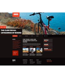 Moto CMS HTML šablona na téma Sport č. 47577