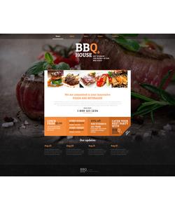 Moto CMS HTML šablona na téma Café a restaurace č. 47813
