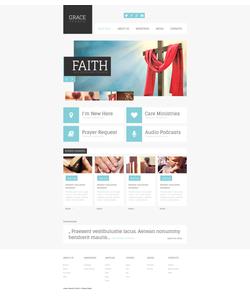 Moto CMS HTML šablona na téma Náboženství č. 48059