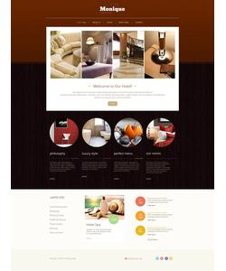 Moto CMS HTML šablona na téma Hotely č. 48389