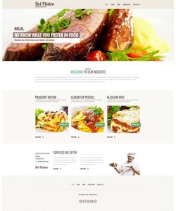 Moto CMS HTML šablona na téma Café a restaurace č. 50569