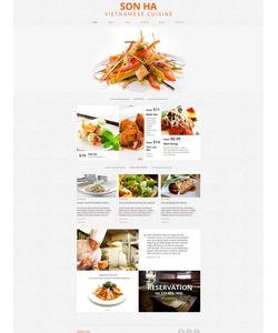 Moto CMS HTML šablona na téma Café a restaurace č. 50829