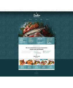 Moto CMS HTML šablona na téma Café a restaurace č. 52206