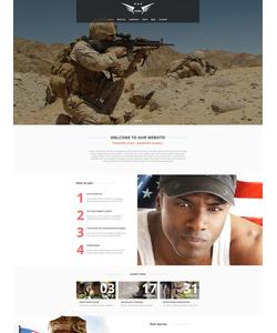Moto CMS HTML šablona na téma Vojenské č. 54748