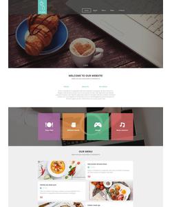 Moto CMS HTML šablona na téma Café a restaurace č. 54768