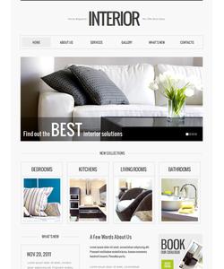Moto CMS HTML šablona na téma Interiér a nábytek č. 39709