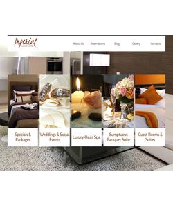 Moto CMS HTML šablona na téma Hotely č. 41017