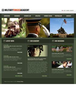 Moto CMS HTML šablona na téma Vojenské č. 41316
